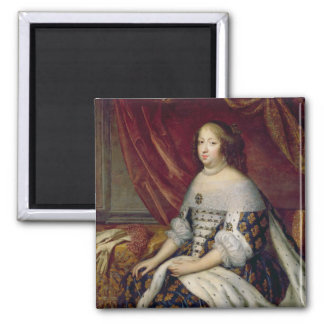 Portrait of Anne of Austria  Queen of France Refrigerator Magnet