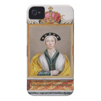 Portrait of Anne of Cleves (1515-57) 4th Queen of iPhone 4 Covers