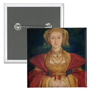 Portrait of Anne of Cleves  1539 Button