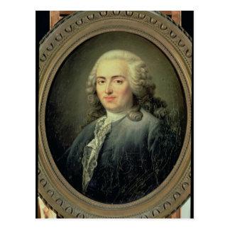 Portrait of Anne-Robert-Jacques Turgot  1726 Postcard