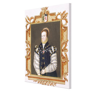 Portrait of Anne Russell (d.1604) Countess of Warw Canvas Print