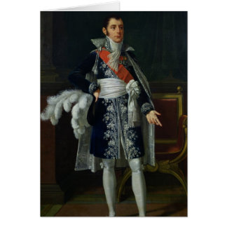 Portrait of Anne Savary  Duke of Rovigo, 1814 Card