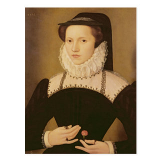 Portrait of Anne Waltham, 1572 Postcard