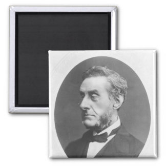 Portrait of Anthony Ashley Cooper 2 Inch Square Magnet