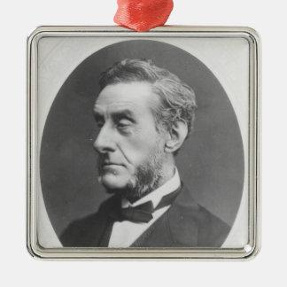 Portrait of Anthony Ashley Cooper Metal Ornament