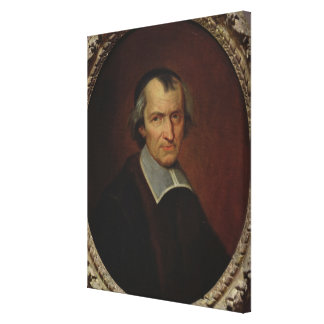Portrait of Antoine Arnauld Stretched Canvas Print