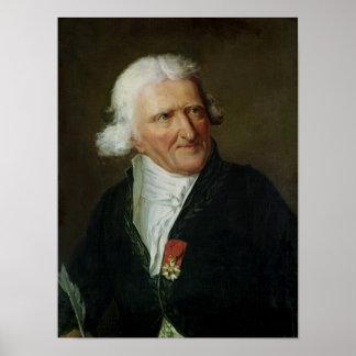 Portrait of Antoine Augustin Parmentier Poster