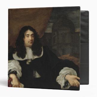 Portrait of Antoine de Ratabon, 1660 3 Ring Binder