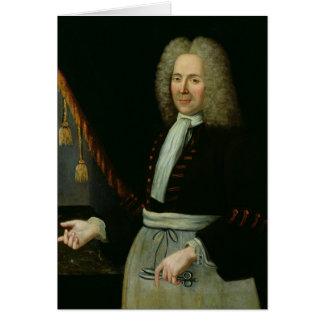 Portrait of Antoine Thibault Greeting Card