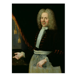 Portrait of Antoine Thibault Postcard