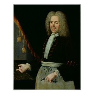 Portrait of Antoine Thibault Posters