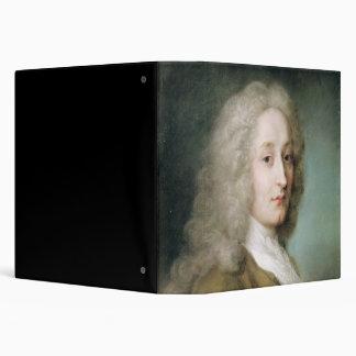 Portrait of Antoine Watteau 3 Ring Binder