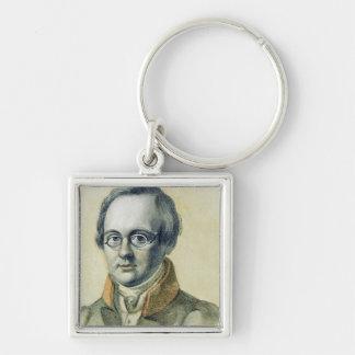 Portrait of Anton A. Delvig, 1830 Keychain