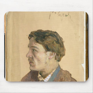 Portrait of Anton Chekhov Mouse Pad