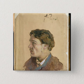 Portrait of Anton Chekhov Pinback Button