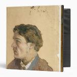 Portrait of Anton Chekhov Vinyl Binders
