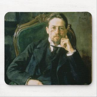 Portrait of Anton Pavlovich Chekhov, 1898 Mouse Pad