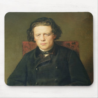Portrait of Anton Rubinstein  1870 Mouse Pad