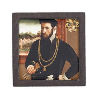 Portrait of Anton Rummel von Liechtenan Jewelry Box