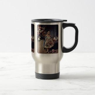 Portrait Of Antonietta Negroni Prati Morosini 15 Oz Stainless Steel Travel Mug