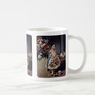 Portrait Of Antonietta Negroni Prati Morosini Classic White Coffee Mug