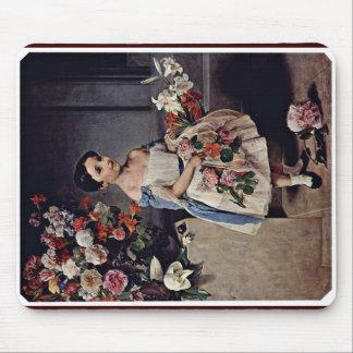 Portrait Of Antonietta Negroni Prati Morosini Mouse Pad