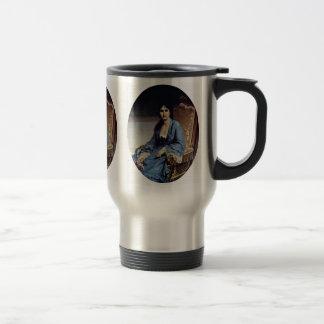 Portrait Of Antonietta Negroni Prati Morosini Oval 15 Oz Stainless Steel Travel Mug