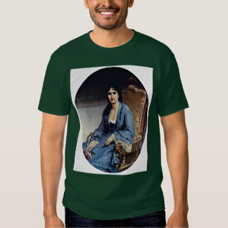 Portrait Of Antonietta Negroni Prati Morosini Oval Tee Shirt