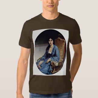 Portrait Of Antonietta Negroni Prati Morosini Oval Tshirt