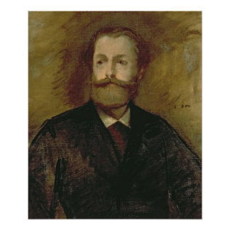 Portrait of Antonin Proust  c.1877-80 Poster