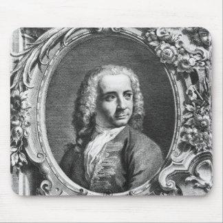 Portrait of Antonio Canaletto Mouse Pad