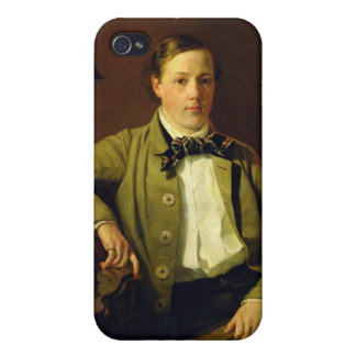 Portrait of Apollon Maykov, 1840 Covers For iPhone 4