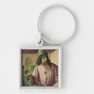 Portrait of Aristotle , c.1475 Keychain
