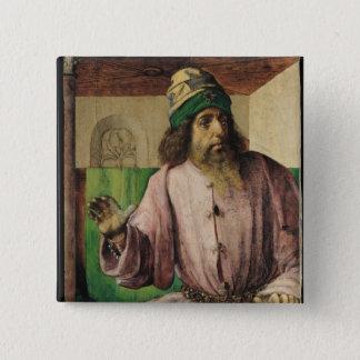 Portrait of Aristotle , c.1475 Pinback Button