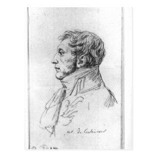 Portrait of Armand Augustin Louis Postcard