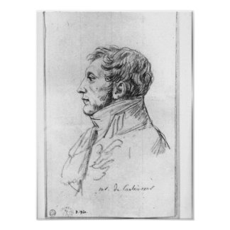 Portrait of Armand Augustin Louis Print