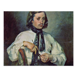 Portrait of Armand Ono,by Millet Jean-Francois Poster