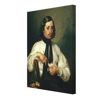 Portrait of Armand Ono, known as The Man with Canvas Print