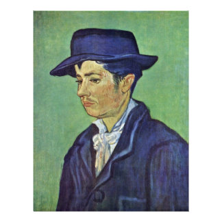Portrait Of Armand Roulin.,  By Vincent Van Gogh Personalized Flyer