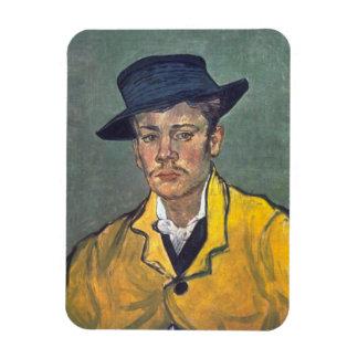 Portrait of Armand Roulin by Vincent Van Gogh Magnet