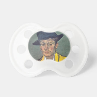 Portrait of Armand Roulin by Vincent Van Gogh Baby Pacifier