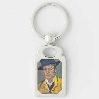 Portrait of Armand Roulin by Vincent Van Gogh Keychains
