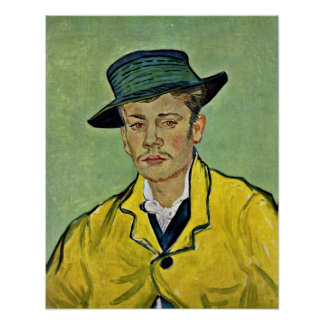 Portrait of Armand Roulin by Vincent van Gogh Posters