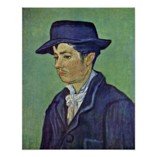 Portrait of Armand Roulin., by Vincent van Gogh Poster
