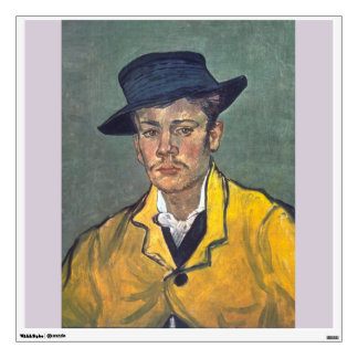 Portrait of Armand Roulin by Vincent Van Gogh Wall Decals