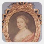 Portrait of Armande Bejart Stickers