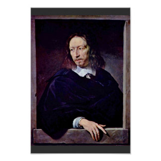 Portrait Of Arnauld D'Andilly By Champaigne Posters