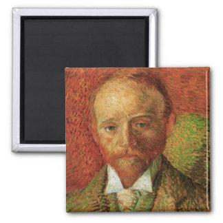 Portrait of Art Dealer Alexander Reid by van Gogh Fridge Magnet