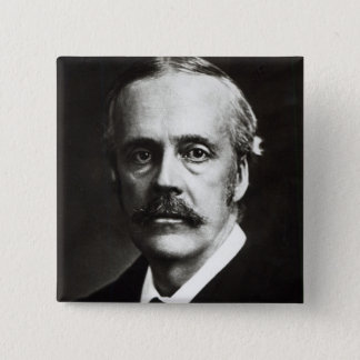 Portrait of Arthur James Balfour Pinback Button
