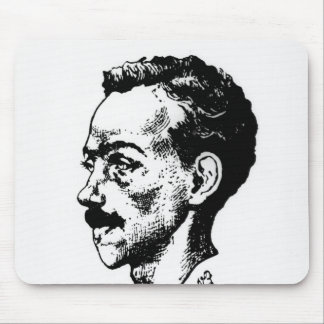 Portrait of Arthur Rimbaud Mouse Pad